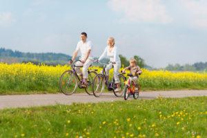 cykling på landet